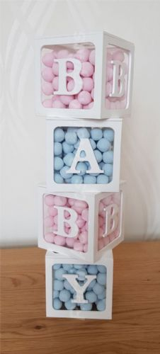 BABY Blocks Acrylic boxes - Small
